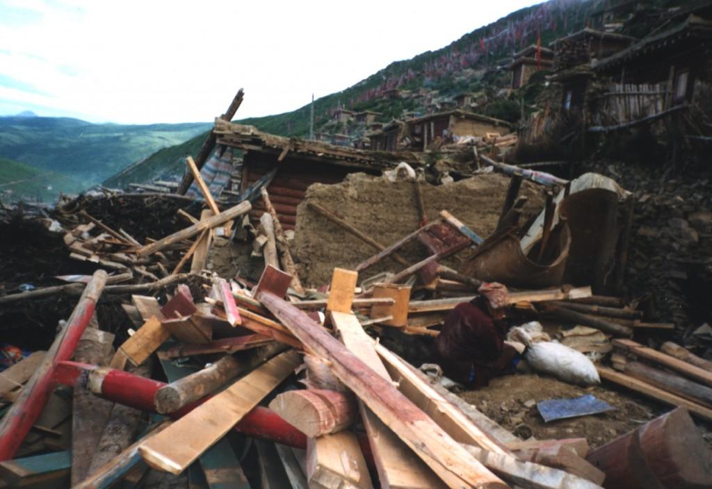 La destruction du site de Serthar