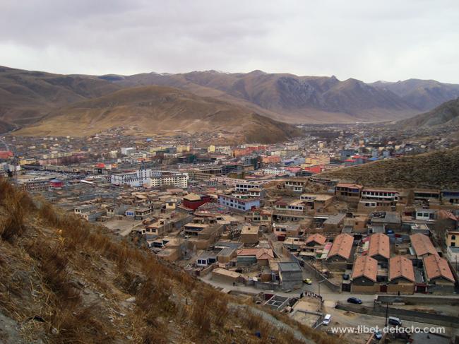 Vue générale de Gyegu